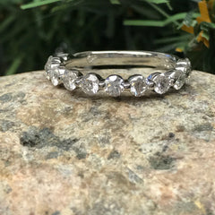 Single Prong Eternity Band