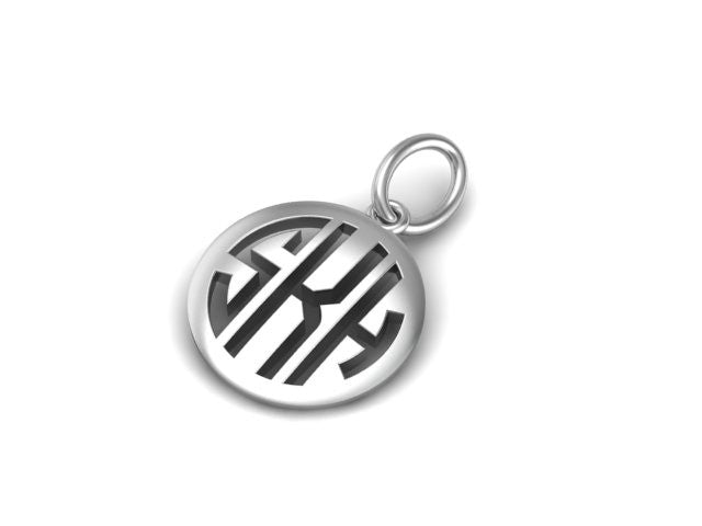 Mini Monogram Tag