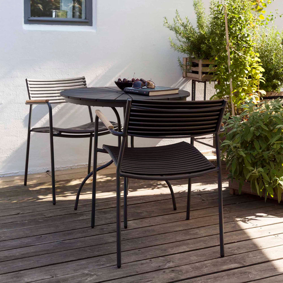 Cinas Mood Air stol Antracit/teak