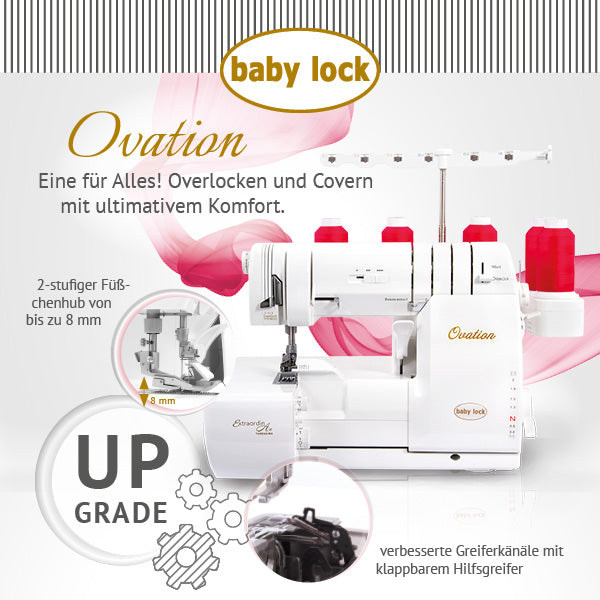 Baby Lock ovation Kombimaschine