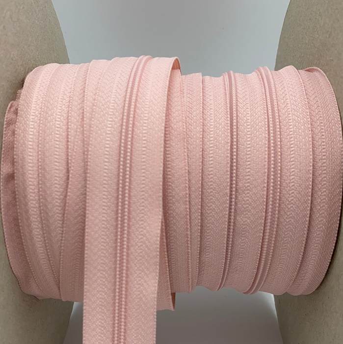 0,5 m YKK Spiralmeterware in ROSE