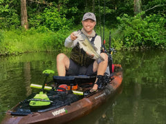 Rus Snyders Hook 1 Fishing Kayak Pro Staff