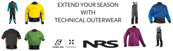 Extend Your Season with Technical Outwear from NRS and Level Six