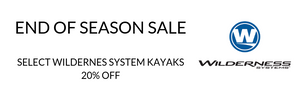 Wilderness Systems End of Season Closeout - 20% off