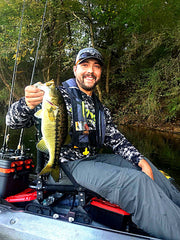 Adam Gorrell Hook 1 Kayak Fishing Pro Staff