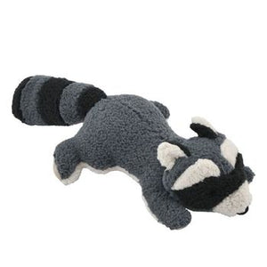 "12"" Plush Raccoon with Squeaker  Pet Tall Tails - Hook 1 Outfitters/Kayak Fishing Gear"
