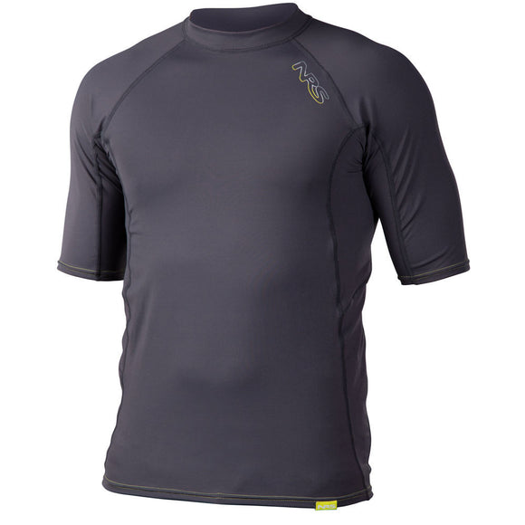 NRS Men's H2Core Rashguard Short-Sleeve Shirt  Tops NRS - Hook 1 Outfitters/Kayak Fishing Gear