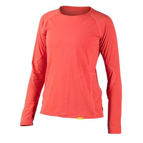 NRS Women's H2Core Silkweight Long-Sleeve Shirt  Tops NRS - Hook 1 Outfitters/Kayak Fishing Gear