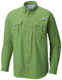 Men's Bahama™ II Long Sleeve Shirt - CLOSEOUT Clean Green / S Tops Columbia - Hook 1 Outfitters/Kayak Fishing Gear