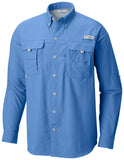 Men's Bahama™ II Long Sleeve Shirt White Cap / M Tops Columbia - Hook 1 Outfitters/Kayak Fishing Gear