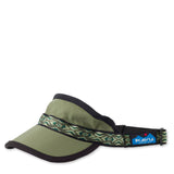Synthetic Strapvisor Moss Hats KAVU - Hook 1 Outfitters/Kayak Fishing Gear