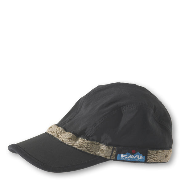 Synthetic Strapcap Black / S Hats KAVU - Hook 1 Outfitters/Kayak Fishing Gear