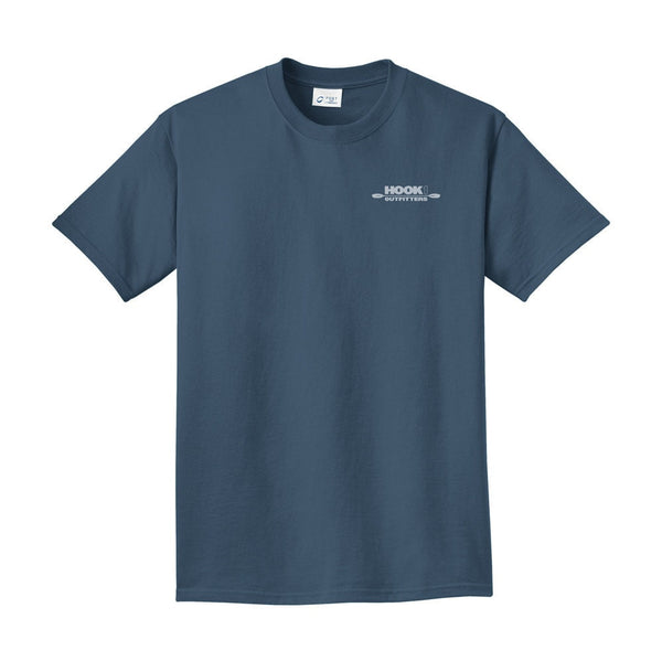 HOOK 1 Outfitters Blue Shirt  Tops Hook 1 Outfitters - Hook 1 Outfitters/Kayak Fishing Gear