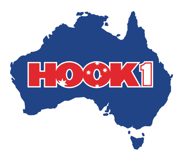 Australia Decal  Accessories Hook 1 Outfitters - Hook 1 Outfitters/Kayak Fishing Gear