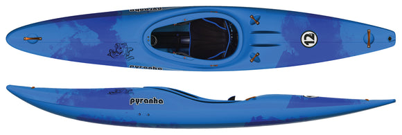 12R Stout 2 / BLUE CRUSH Kayaks Pyranha - Hook 1 Outfitters/Kayak Fishing Gear