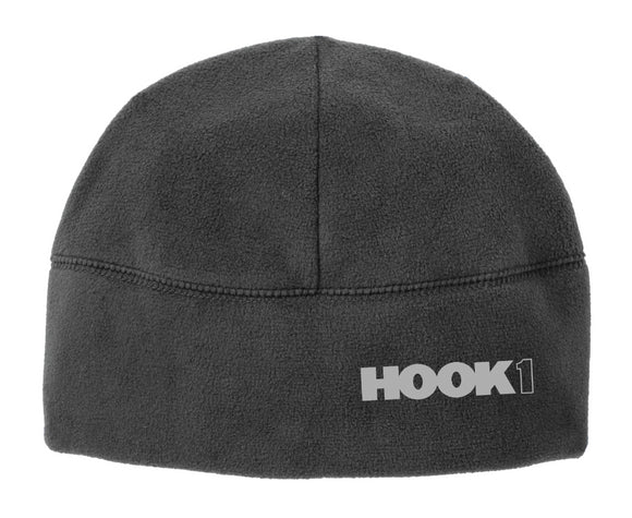 Hook 1 Grey Beanie with Block Logo  Hats Hook 1 Outfitters - Hook 1 Outfitters/Kayak Fishing Gear