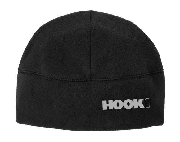 Hook 1 Black Beanie with Block Logo  Hats Hook 1 Outfitters - Hook 1 Outfitters/Kayak Fishing Gear