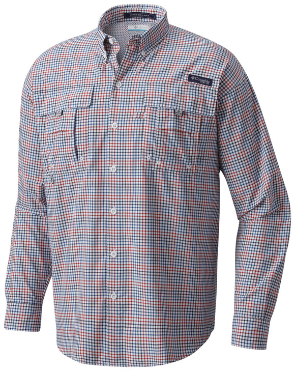 Super Bahama™ Long Sleeve Shirt - CLOSEOUT Collegiate Navy - CLOSEOUT / S Tops Columbia - Hook 1 Outfitters/Kayak Fishing Gear