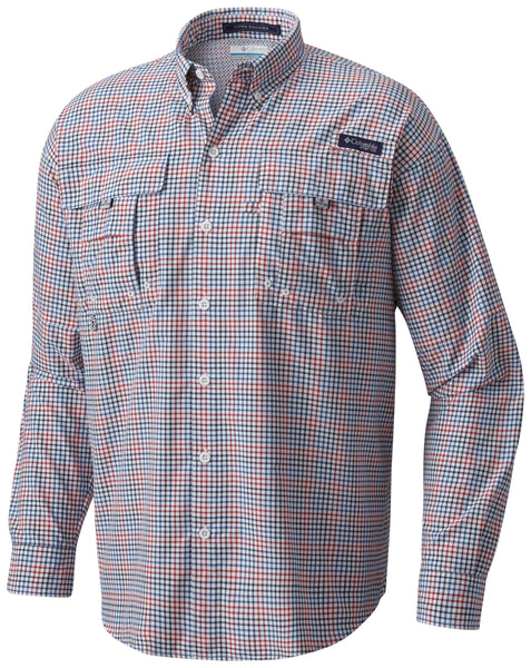 Super Bahama™ LS Shirt Collegiate Navy - CLOSEOUT / S Tops Columbia - Hook 1 Outfitters/Kayak Fishing Gear