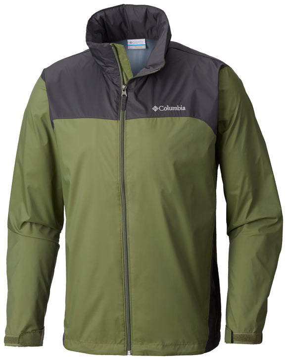 Glennaker Lake™ Rain Jacket Mosstone, Shark / M Jackets Columbia - Hook 1 Outfitters/Kayak Fishing Gear