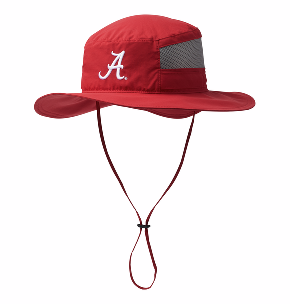 Collegiate Bora Bora™ Booney II - Alabama ALA - Red Velvet / O/S Hats Columbia - Hook 1 Outfitters/Kayak Fishing Gear