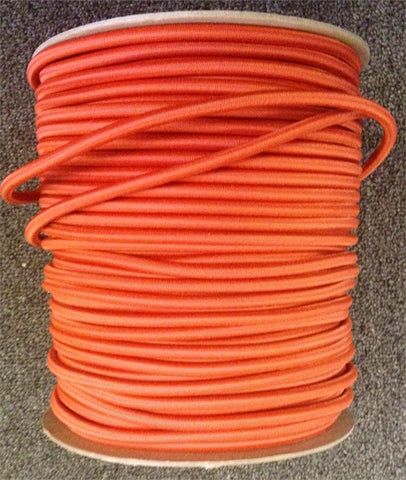 "Bungee / Shock Cord 1/4"" - Orange"