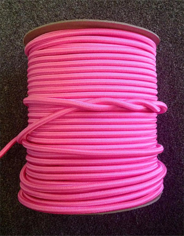 "Bungee / Shock Cord 1/4"" - PINK"