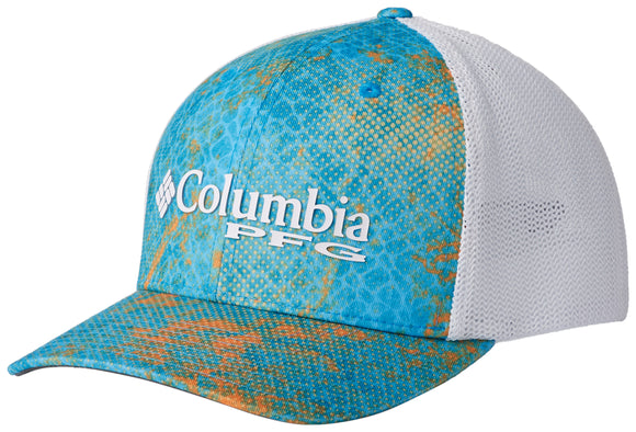Camo Mesh Ball Cap Riptide Realtree MAKO  Hats Columbia - Hook 1 Outfitters/Kayak Fishing Gear