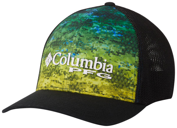Camo Mesh Ball Cap Dorado Fade Camo  Hats Columbia - Hook 1 Outfitters/Kayak Fishing Gear