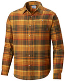 Rapid Rivers™ II Long Sleeve Shirt - CLOSEOUT Mosstone Plaid - CLOSEOUT / M Tops Columbia - Hook 1 Outfitters/Kayak Fishing Gear