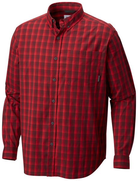 Out and Back™ II Long Sleeve Shirt Red Element - CLOSEOUT / M Tops Columbia - Hook 1 Outfitters/Kayak Fishing Gear