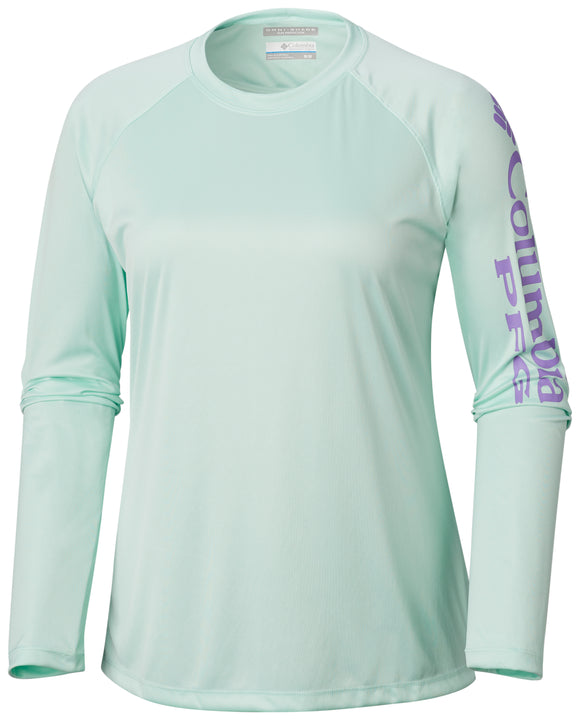 Tidal Tee™ II Long Sleeve - CLOSEOUT Sea Ice, Paisle / S Tops Columbia - Hook 1 Outfitters/Kayak Fishing Gear