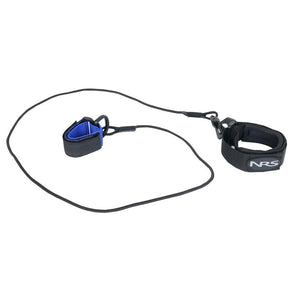 NRS Bungee Paddle Leash  Leashes and Retractors NRS - Hook 1 Outfitters/Kayak Fishing Gear