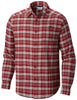 Cornell Woods™ Flannel Long Sleeve Shirt Red Element Plaid - CLOSEOUT / M Tops Columbia - Hook 1 Outfitters/Kayak Fishing Gear