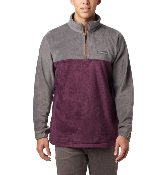 Steens Mountain™ Half Zip Shark, Black Cherry / M Jackets Columbia - Hook 1 Outfitters/Kayak Fishing Gear