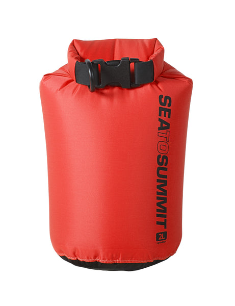 Lightweight Dry Sack 1L / RED Dry Bags and Cases SEA TO SUMMIT - Hook 1 Outfitters/Kayak Fishing Gear