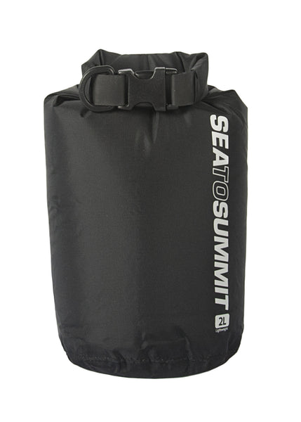 Lightweight Dry Sack 1L / BLACK Dry Bags and Cases SEA TO SUMMIT - Hook 1 Outfitters/Kayak Fishing Gear
