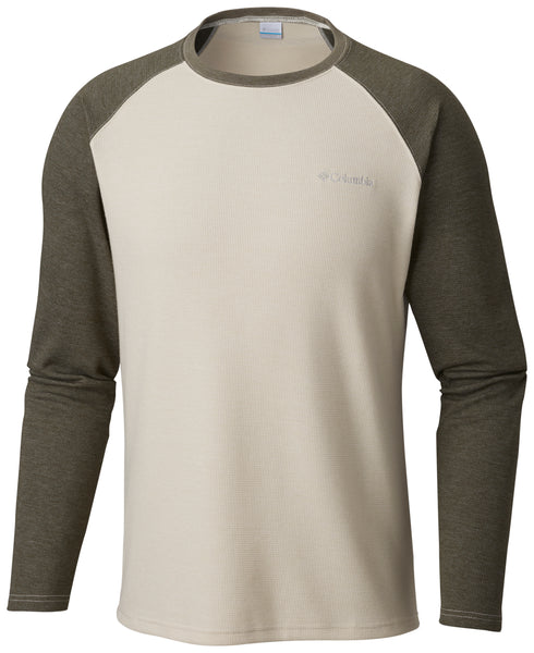 Ketring™ Raglan Long Sleeve Shirt Stone, Peatmoss - CLOSEOUT / Large Tops Columbia - Hook 1 Outfitters/Kayak Fishing Gear