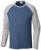 Ketring™ Raglan Long Sleeve Shirt Dark Mountain, Columbia Grey - CLOSEOUT / Large Tops Columbia - Hook 1 Outfitters/Kayak Fishing Gear