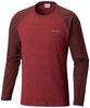 Ketring™ Raglan Long Sleeve Shirt Red Element, Elderberry - CLOSEOUT / Large Tops Columbia - Hook 1 Outfitters/Kayak Fishing Gear