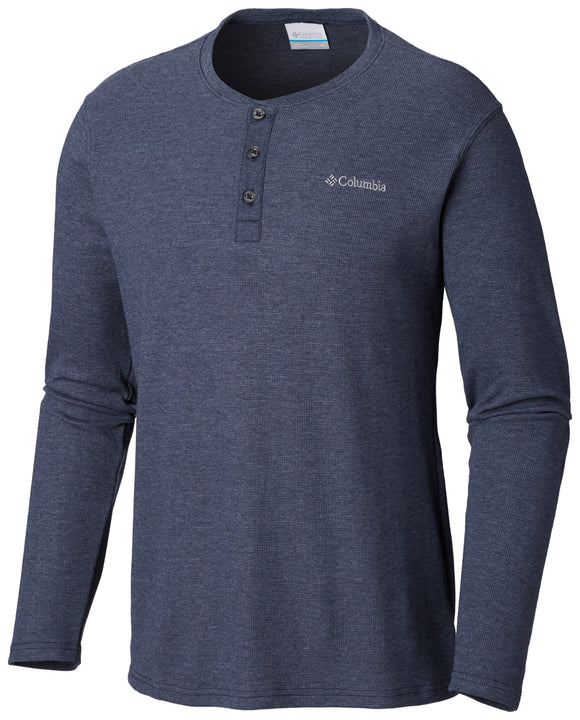 Ketring™ Henley Collegiate Navy / Medium Tops Columbia - Hook 1 Outfitters/Kayak Fishing Gear
