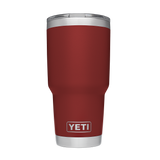Rambler 30oz Tumbler w/Mag Slider Lid Brick Red Mugs Yeti - Hook 1 Outfitters/Kayak Fishing Gear