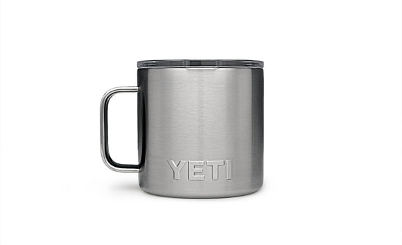 Rambler 14oz Mug Stainless Mugs Yeti - Hook 1 Outfitters/Kayak Fishing Gear