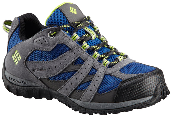 YOUTH REDMOND™ WATERPROOF Azul / 3 Footwear Columbia - Hook 1 Outfitters/Kayak Fishing Gear