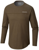 Rugged Ridge™ Long Sleeve Crew Peatmoss Heathe / M Tops Columbia - Hook 1 Outfitters/Kayak Fishing Gear