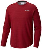 Rugged Ridge™ Long Sleeve Crew Red Element Hea / M Tops Columbia - Hook 1 Outfitters/Kayak Fishing Gear
