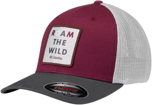Trail Ethos Mesh Hat Tapestry, Roam the Wild Patch  Hats Columbia - Hook 1 Outfitters/Kayak Fishing Gear