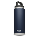 Rambler 18oz Bottle Navy  Mugs Yeti - Hook 1 Outfitters/Kayak Fishing Gear