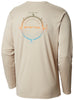 Terminal Tackle PFG Compass LS Shirt Fossil / L Tops Columbia - Hook 1 Outfitters/Kayak Fishing Gear