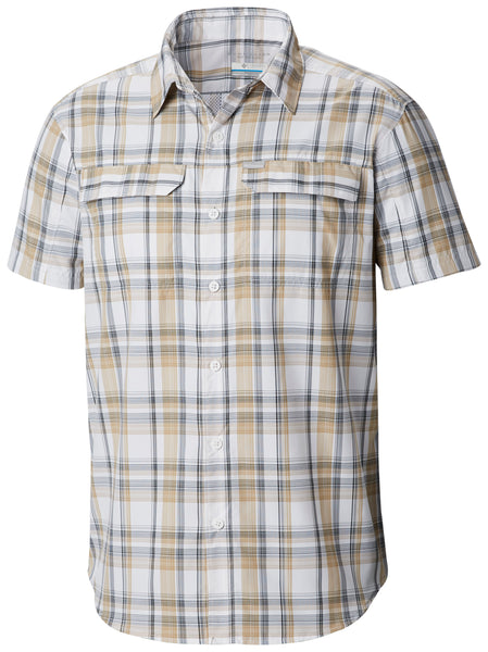 Silver Ridge 2.0 Multi Plaid S/S Shirt Beach Plaid / L Tops Columbia - Hook 1 Outfitters/Kayak Fishing Gear